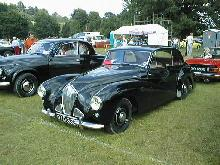 Healey 2.4 litre Tickford Saloon