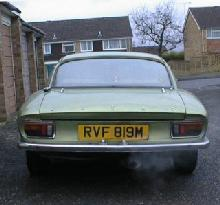 Lotus Elan +2S 130/4 (Rear view)