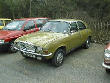 Allegro Vanden Plas (Yellow/Green bodywork, front view)