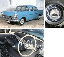 1958 VAUXHALL VELOX PA FOUR DOOR SALOON