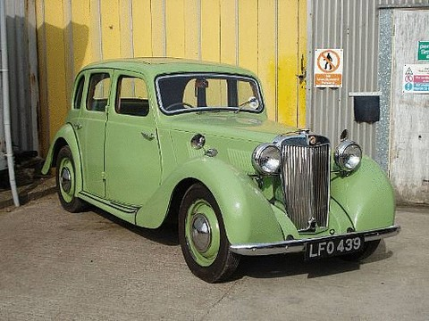 1948 MG Y-Type Saloon