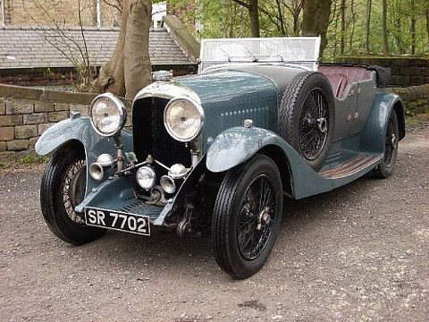 1929 Bentley 4 Litre Four Seat Tourer Coachwork By Cadogan