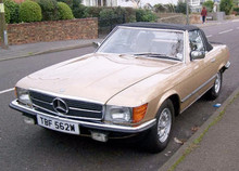 1980 MERCEDES-BENZ 500 SL