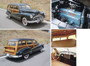 1947 BUICK SUPER SERIES 50 WOODY WAGON