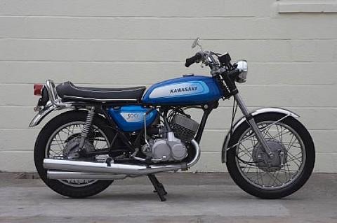 1972 Kawasaki 500cc H1 Two Stroke Triple Picture Gallery