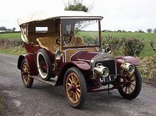 1910 Wolseley-Siddeley 16/20hp Tourer