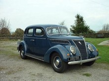 1937 Ford V8 Model 78 Saloon