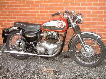 1956 BSA 646cc Road Rocket