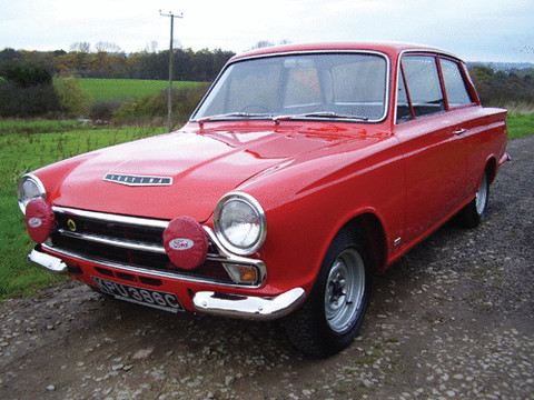 Ex Works 1966 RAC Rally And Jim Clark 1965 Ford Cortina Lotus Car