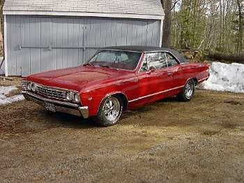 1967 Chevrolet Chevelle Malibu Two-Door Coupe
