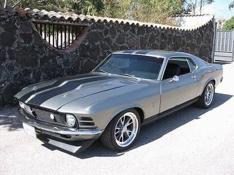 1970 Ford Mustang Boss 302 Shelby Gt500 Eleanor Sportsroof