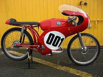 1962 Benelli 50cc Grand Prix Racing Motorcycle