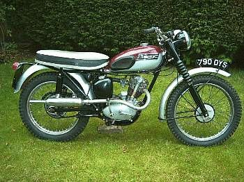 1964 Triumph T20 199cc Tiger Cub Trials