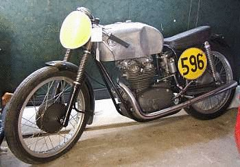 c.1956 CZ 125cc Grand Prix Racing Motorcycle