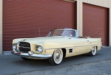 1958 Dual-Ghia Convertible<BR>Coachwork by <I>Carrozzeria Ghia</i>