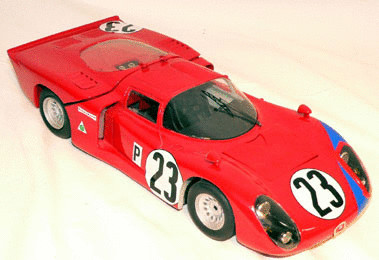 Alfa Romeo - The 33/2 Daytona Coupe Short Tail
