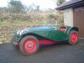 1934 Riley 9hp Imp Roadster