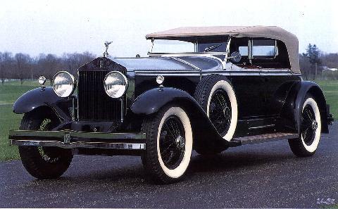 rolls Royce Phantom1 Ascot Phaeton 1929  Picture Gallery