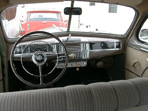 Plymouth Special Deluxe Dash (1947)