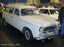 Peugeot 403 D Familiale 1962 Front three quarter view