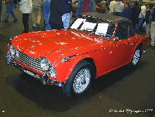 Triumph TR4A Irs 1966 Front three quarter view