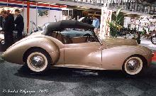 Westland Healey Convertible 1947 Side