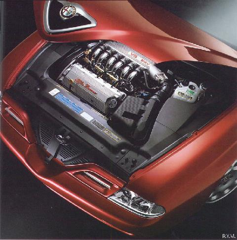 Alfa Romeo 166 V6 24v 2000 Engine