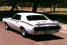 Mercury Cougar Eliminator White  Rvl (1970)