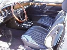 Bmw 3,0csi Coupe Blue Interior (1972)