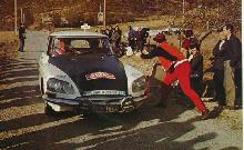 Citroen Ds At Monte Carlo (1972)