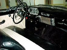 Packard 250 Convertible Interior (1950)