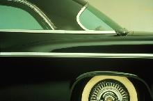 Chrysler 300b, Black, C Pillar (1956)