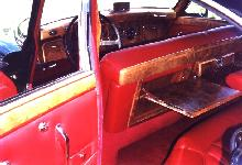 Jaguar Mk Ix Sedan Rear Interior Red (1961)