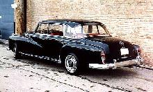 Mercedes Benz 300d Sedan Black  Rvl (1961)