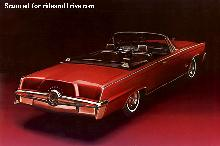 Imperial Crown Convertible  Rvr Rd  (1964)