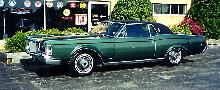 Lincoln Continental Mk III Greenblack Svl (1969)