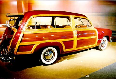 Ford Custom Deluxe Country Squire  Rvr (1950)