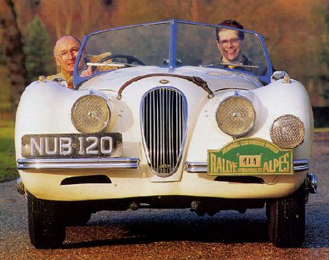 Jaguar Xk120 Alu Body  1 (1950)