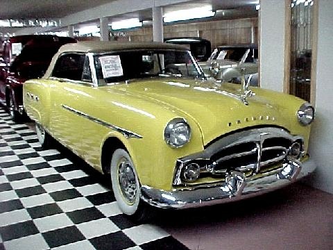 Packard 250 Convertible Yellow  Fvr (1950)