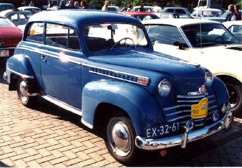 opel olympia 1950 vehicle summary motorbase. Black Bedroom Furniture Sets. Home Design Ideas