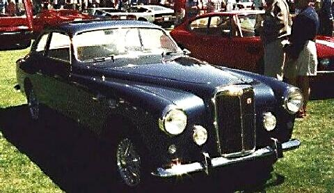 Arnolt Mg Coupe Blue  Fvr (1953)