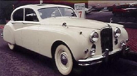 Jaguar MkVIIM Sedan White  Fvr (1955)