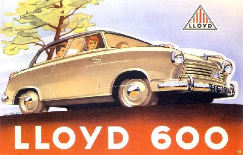 Lloyd 600 Germany (1955)