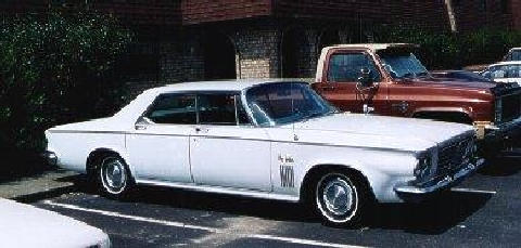 Chrysler New Yorker 4d Htp White  Fvr (1963)