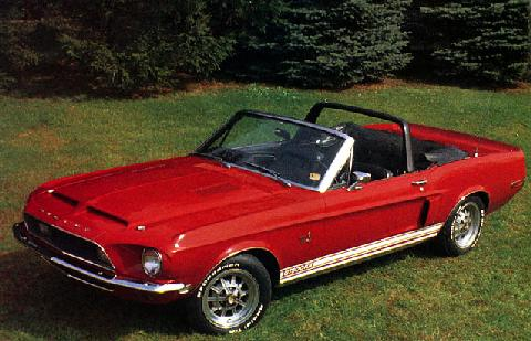 Ford USA Shelby Mustang GT 500  Motorbase