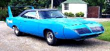 Plymouth Superbird Blue FVr   (1970)