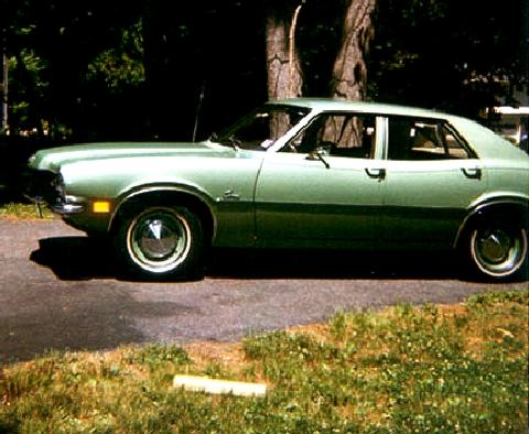 Mercury Comet Green SVl   (1971)