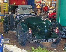 Alvis 4,3 Litre 1937 Rear three quarter view