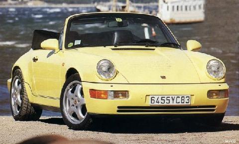Porsche 911 Carrera 2 Cabriolet Mwb 1989 Picture Gallery Motorbase