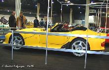 Marcos Mantis Convertible 1999 Side